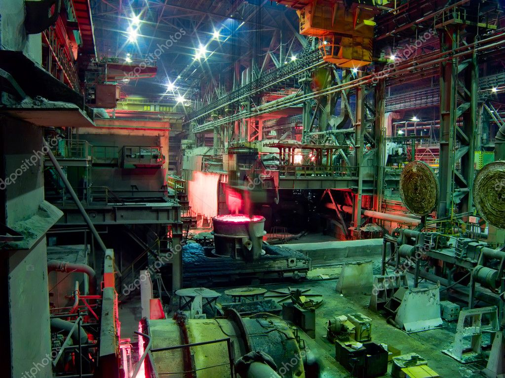 depositphotos 3959388 stock photo metallurgical works industrial production process